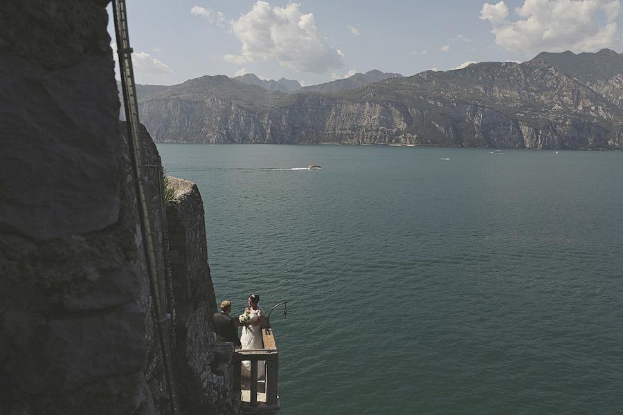 Malcesine Castle, Lake Garda view