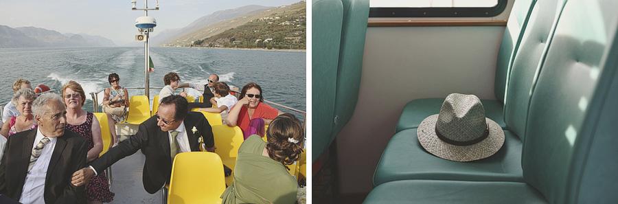 The boat trip to Casa degli Spiriti