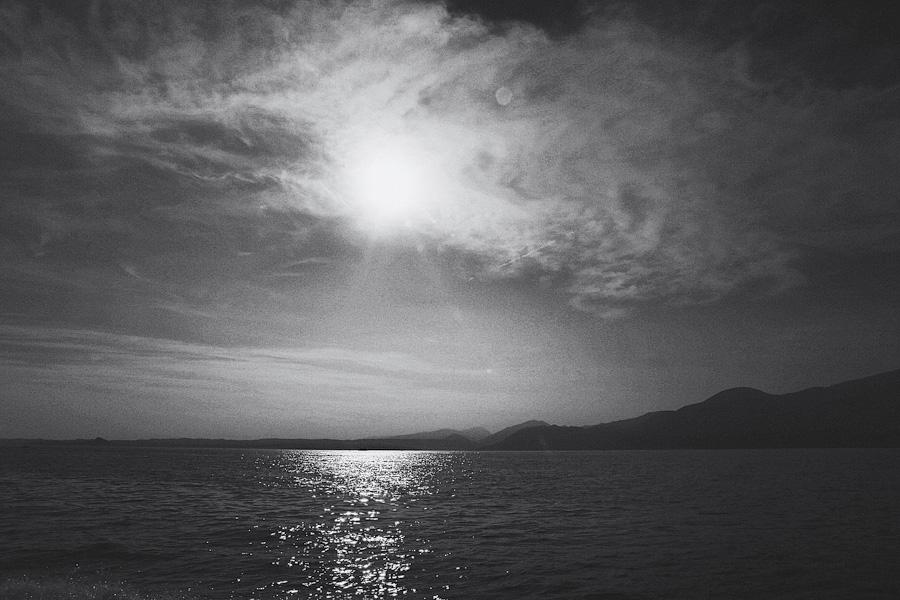 Beautiful scenic view of Lake Garda