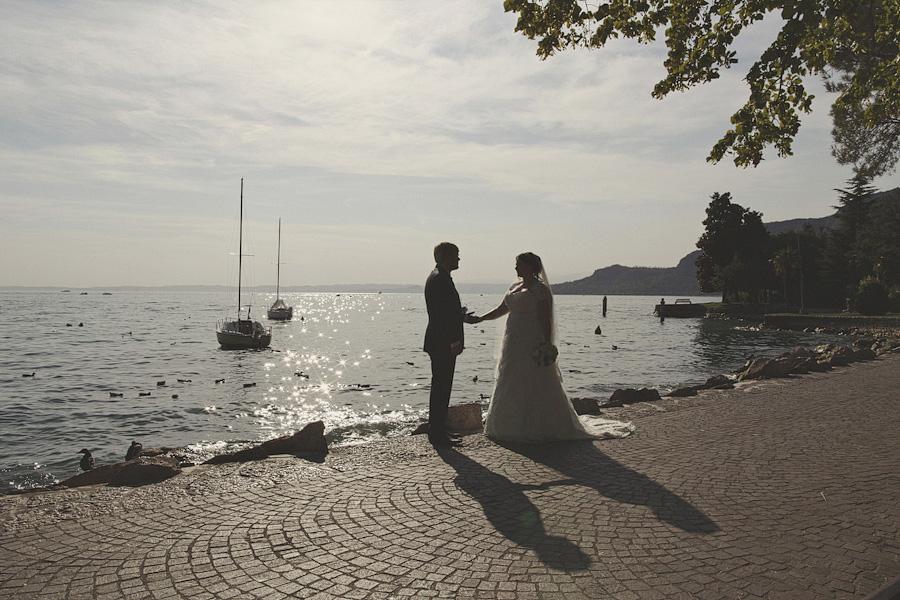 Beautiful view of Lake Garda