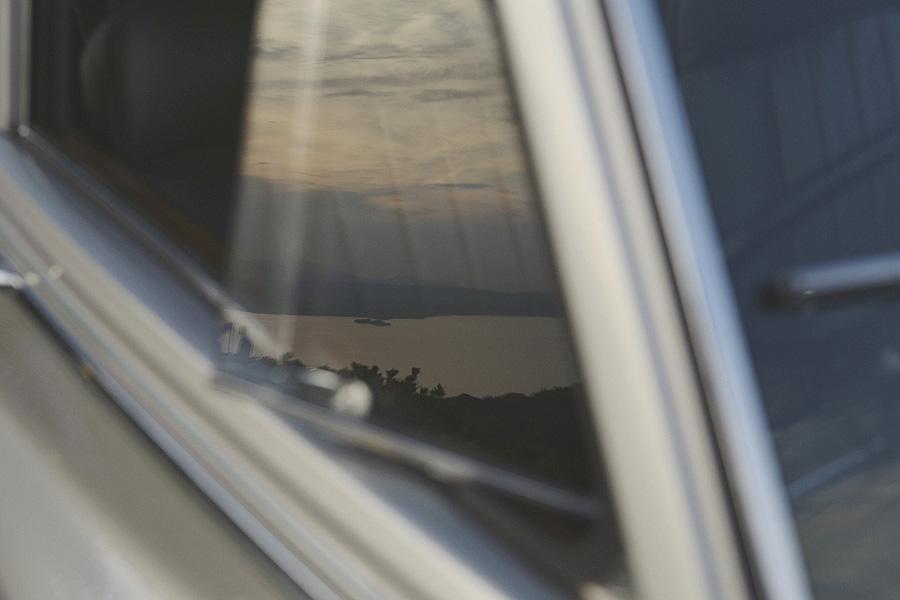 reflection of Lake Garda