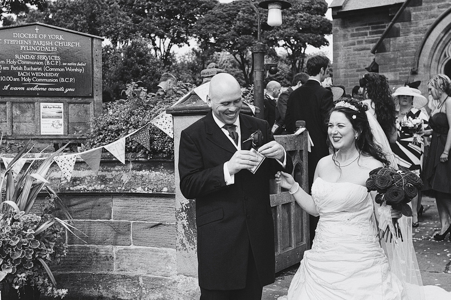 whitby wedding photography 43 Robin Hoods Bay, Whitby Wedding Photography