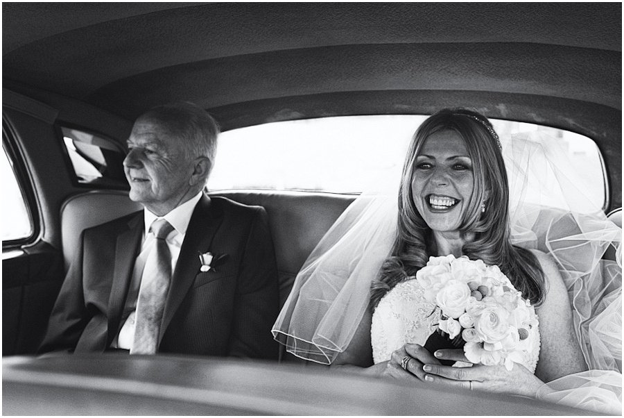Bride-and-Father-In-Car
