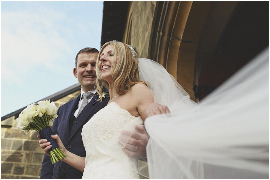 bride-and-groom-on-steps-just-married