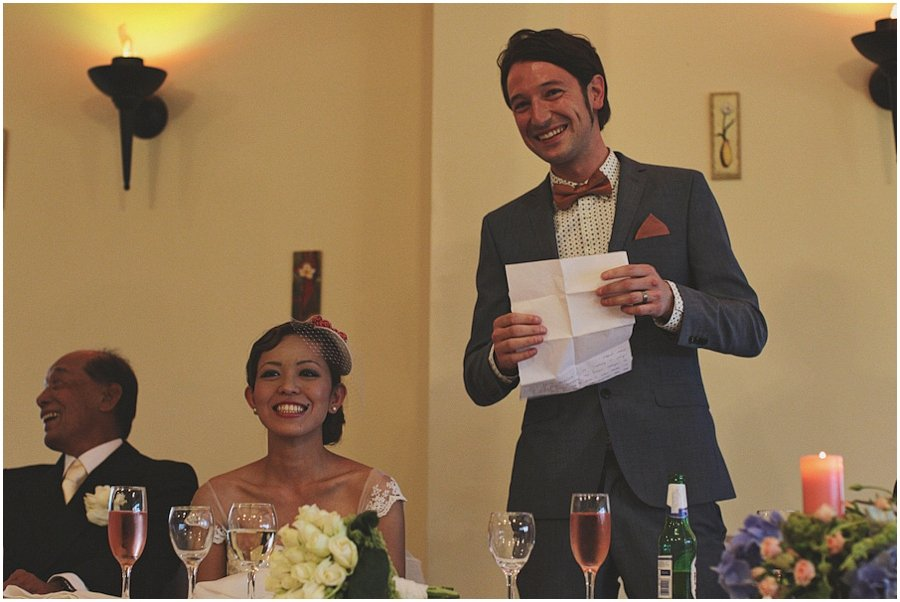 Ox Pasture Hall Wedding Speeches