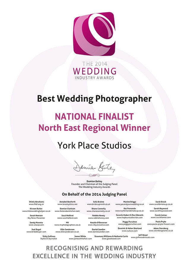 award winning wedding photographers