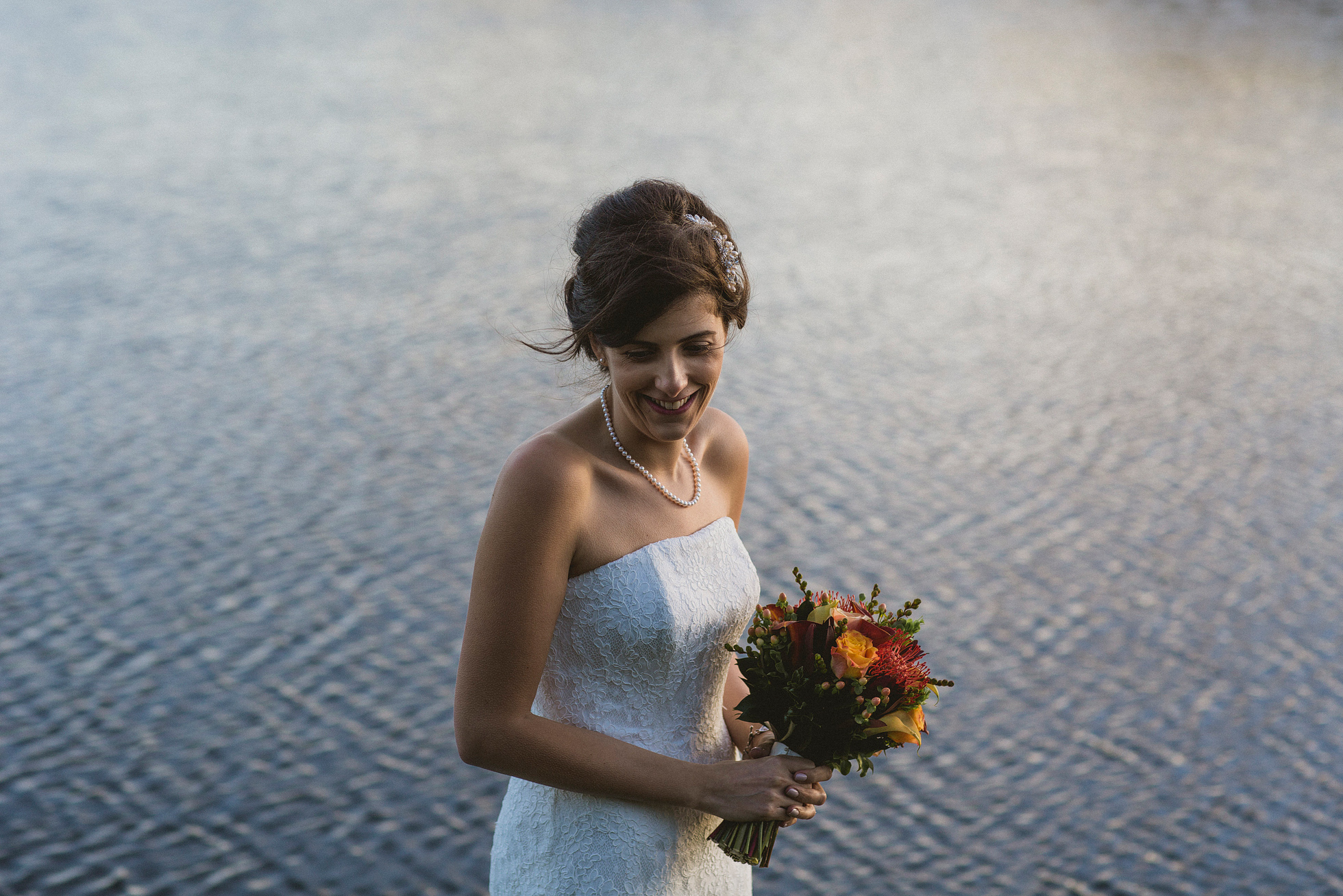 South Farm bride portrait