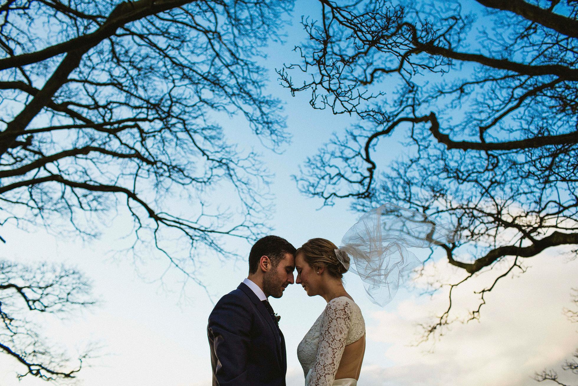 Broughton Hall Wedding Portraits