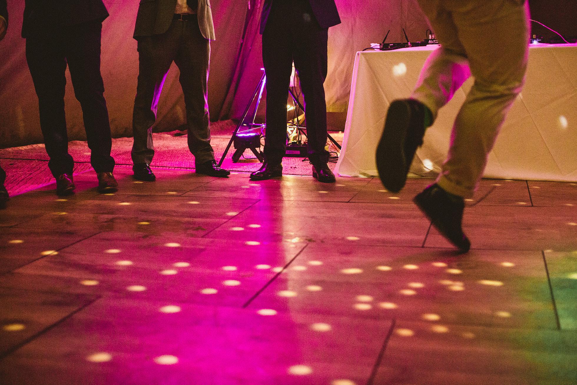 Broughton Hall Wedding dance floors
