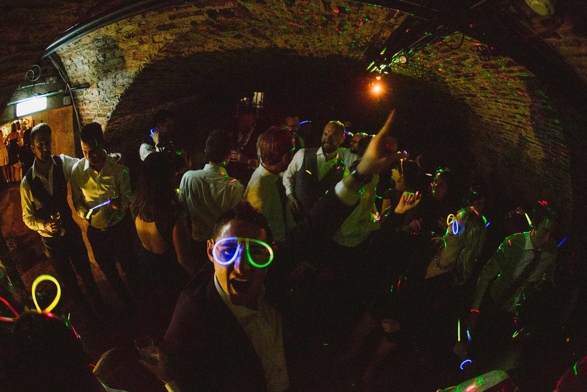 The Underground cellar at Middleton Lodge