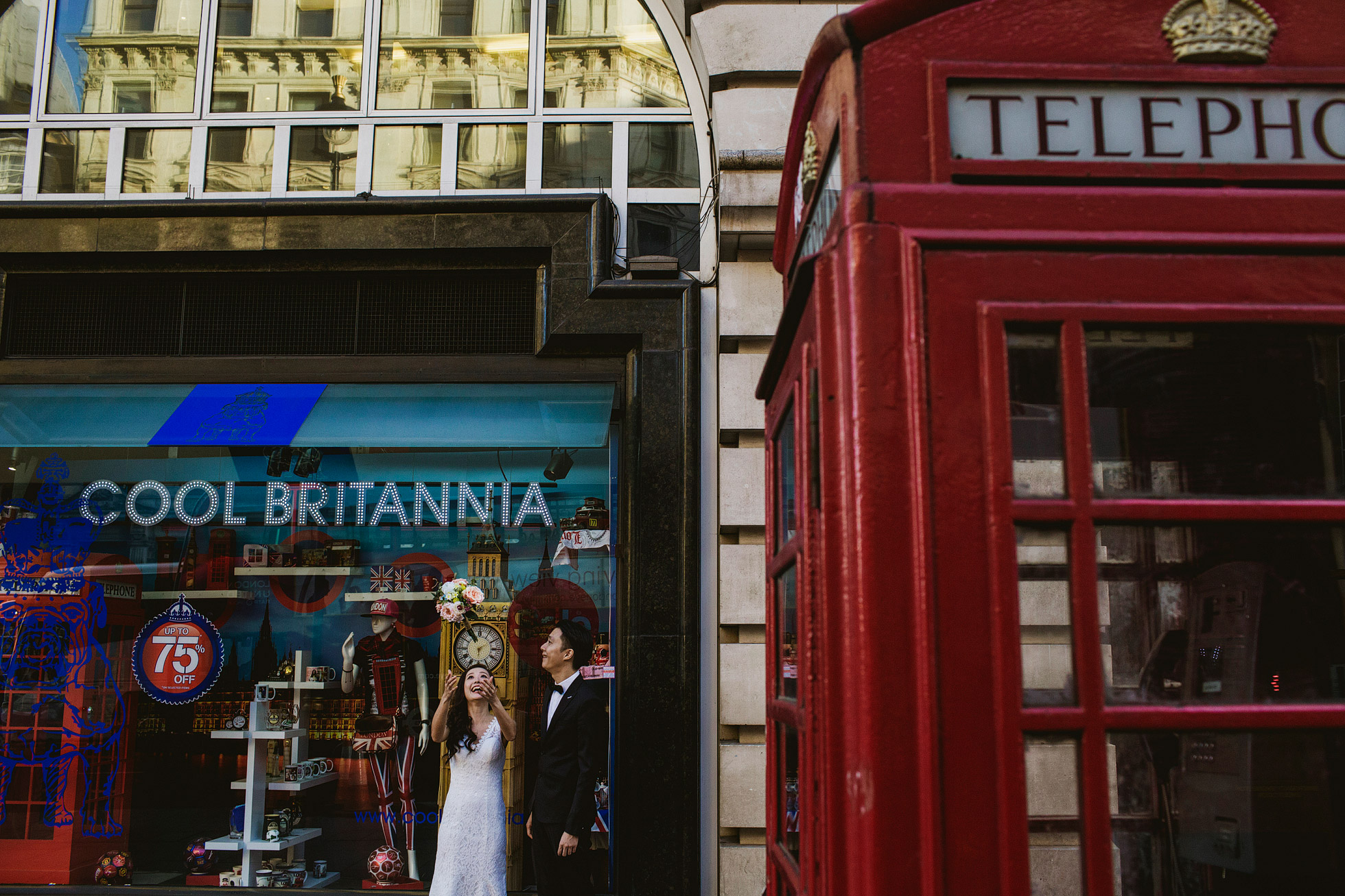 London Wedding Portrait