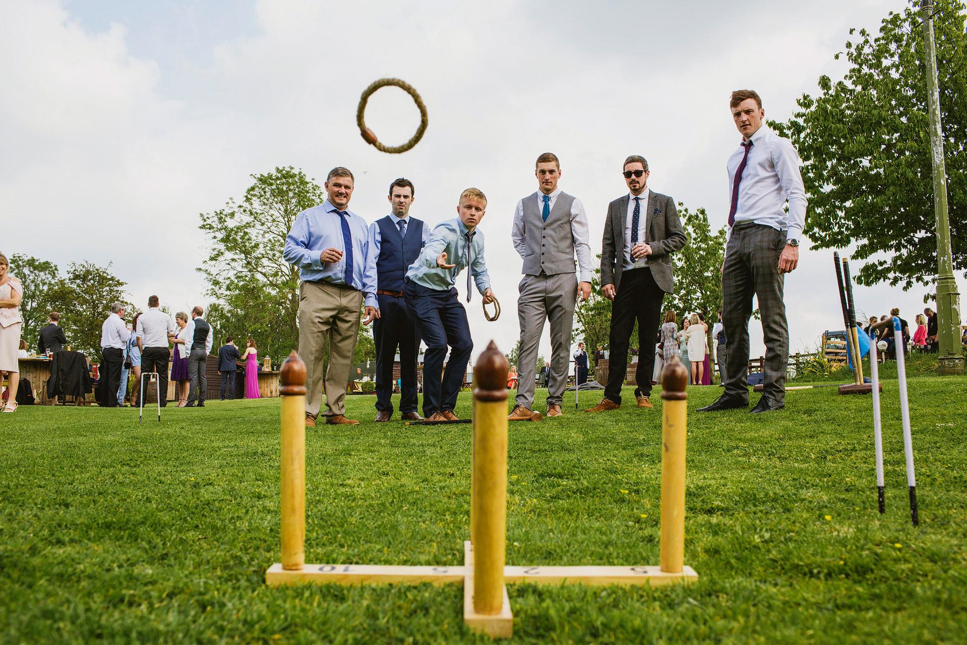 Skipton Country Weddings Hoopla games