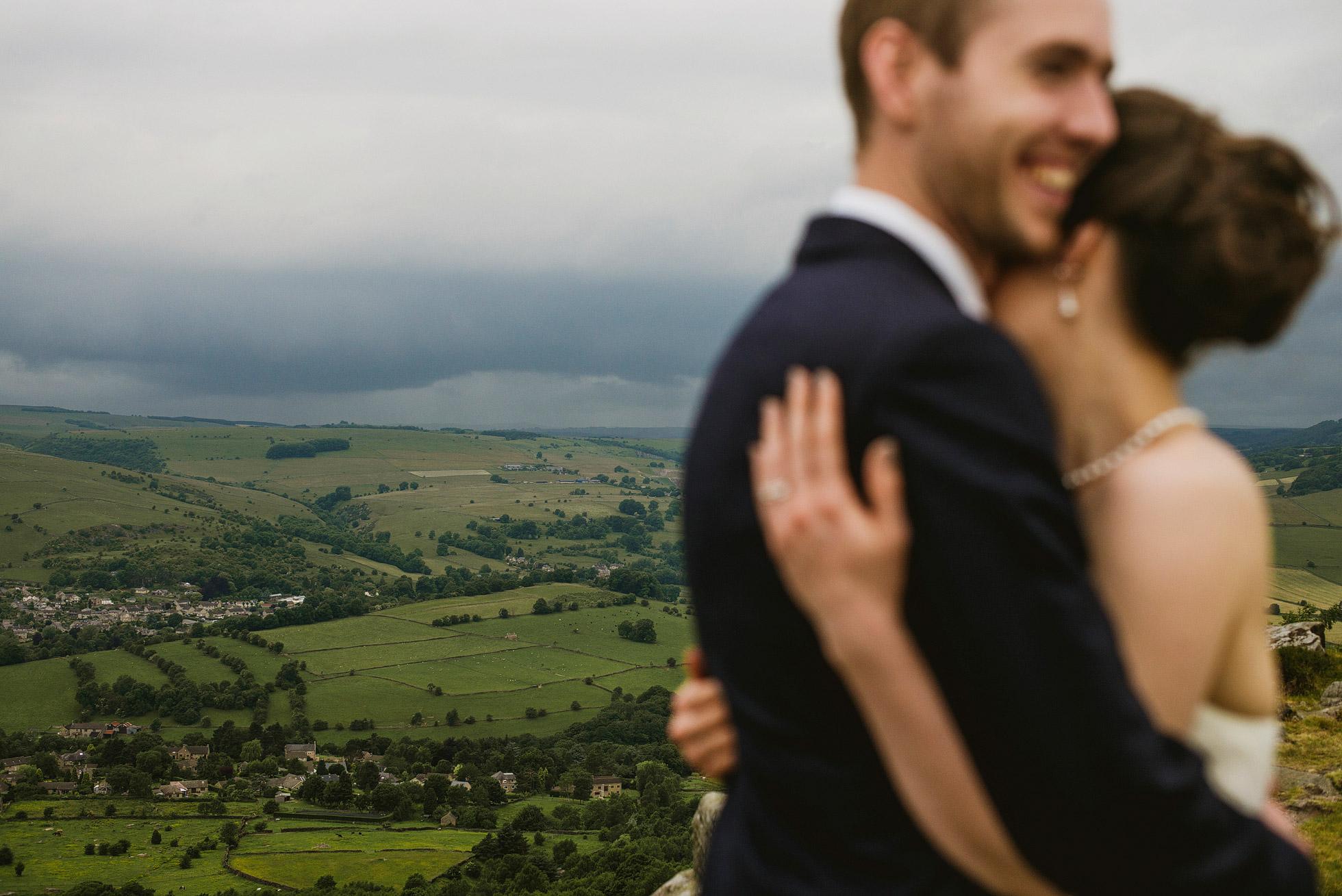 Curbar Edge Wedding Photography