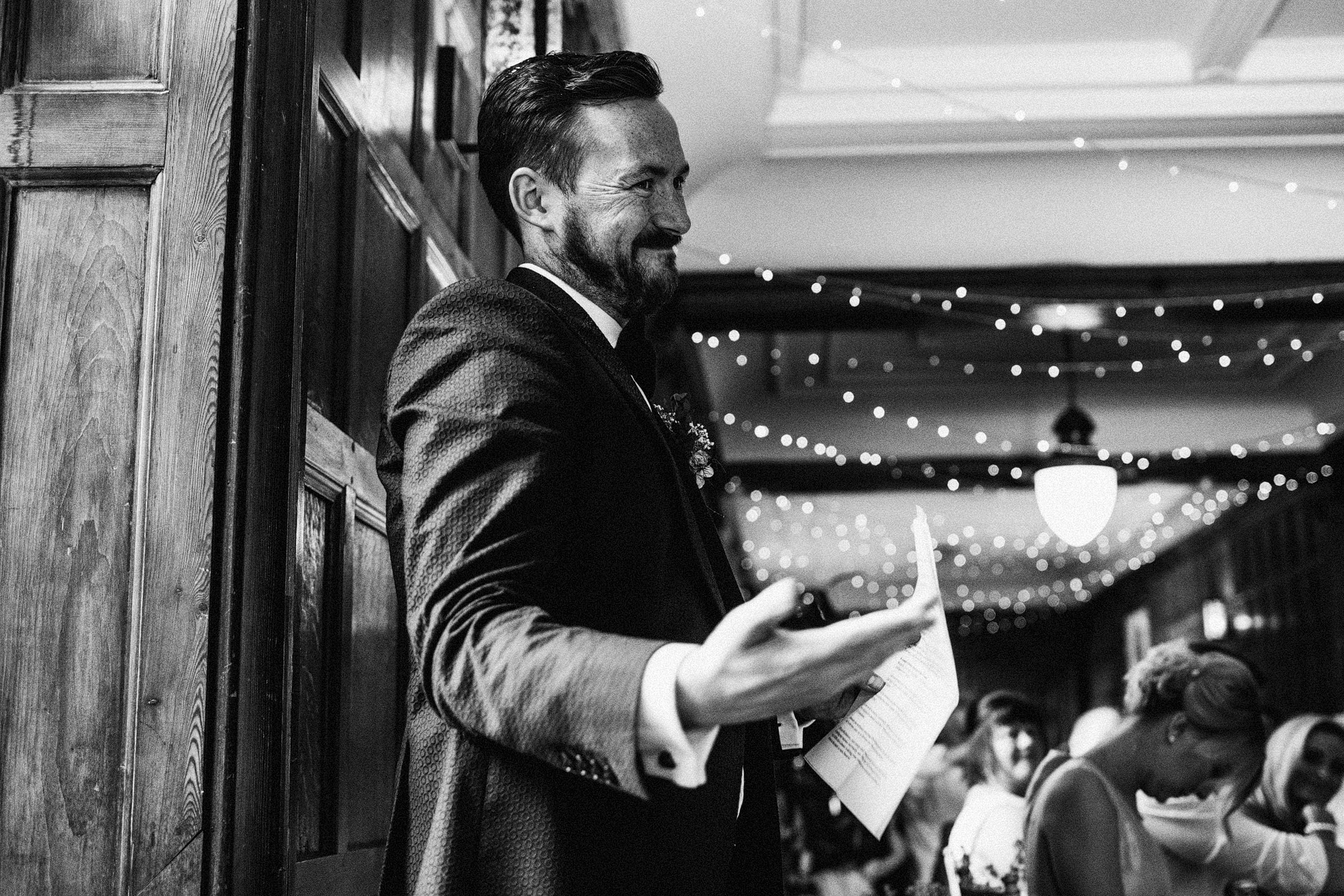 Grays Court Wedding Speeches