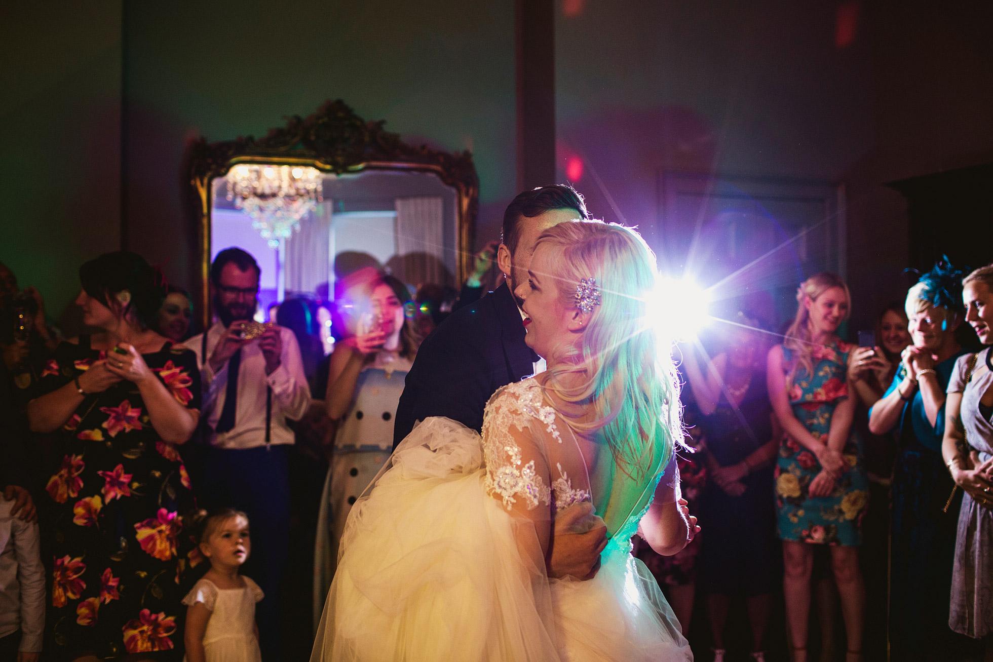 Grays Court Wedding Dancing