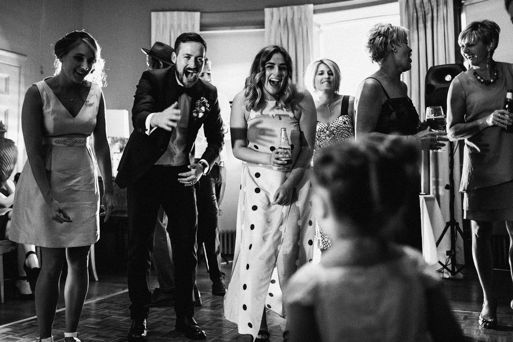 Grays Court Wedding Late Night Dancing