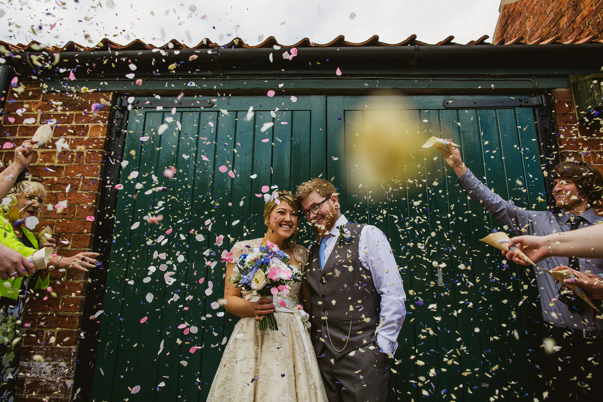 York Maze Wedding Confetti