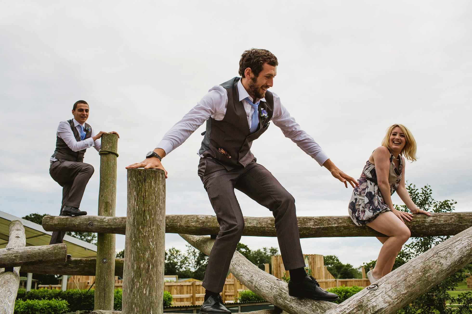 York Maze Wedding Guests