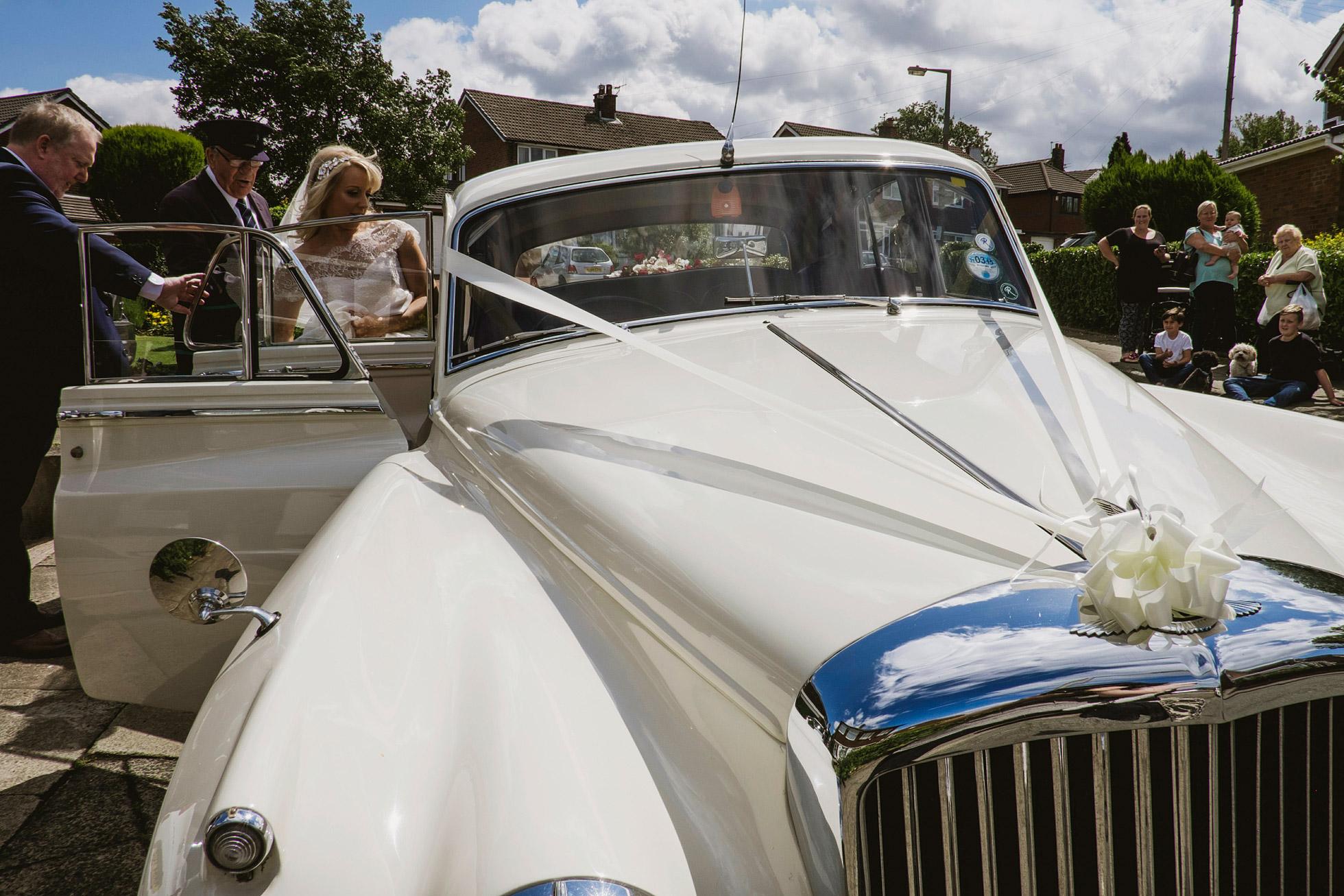 Stanley House Wedding Departure