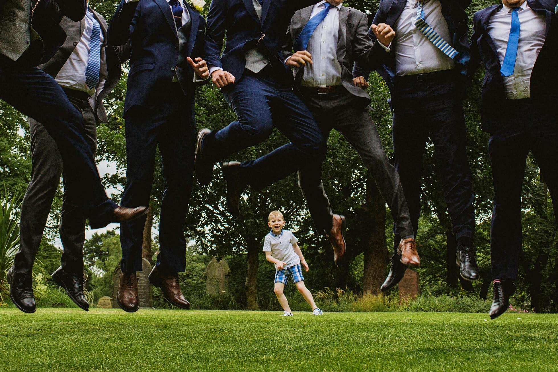 Stand Parish Wedding Guests