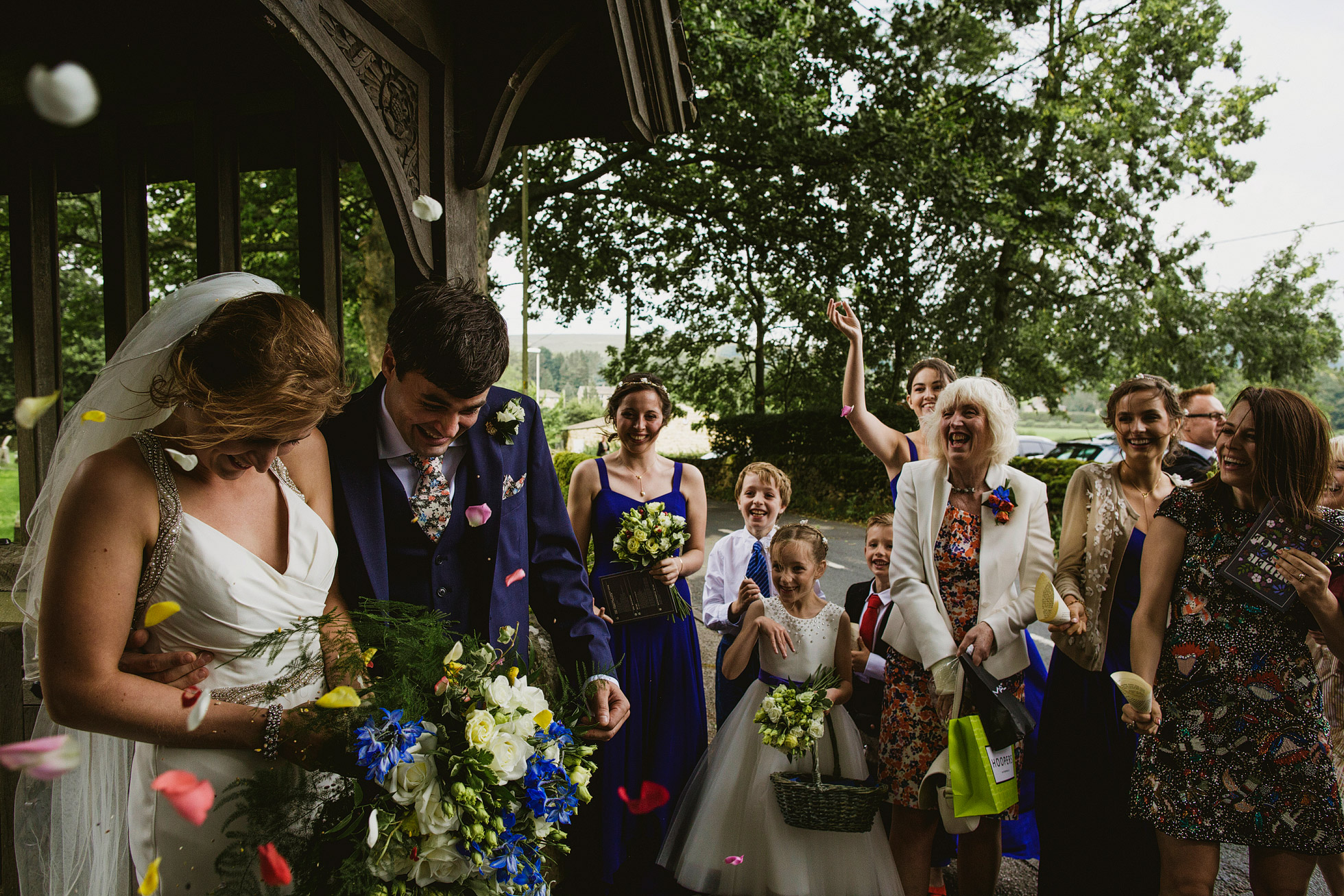 Utopia Broughton Hall Wedding Confetti