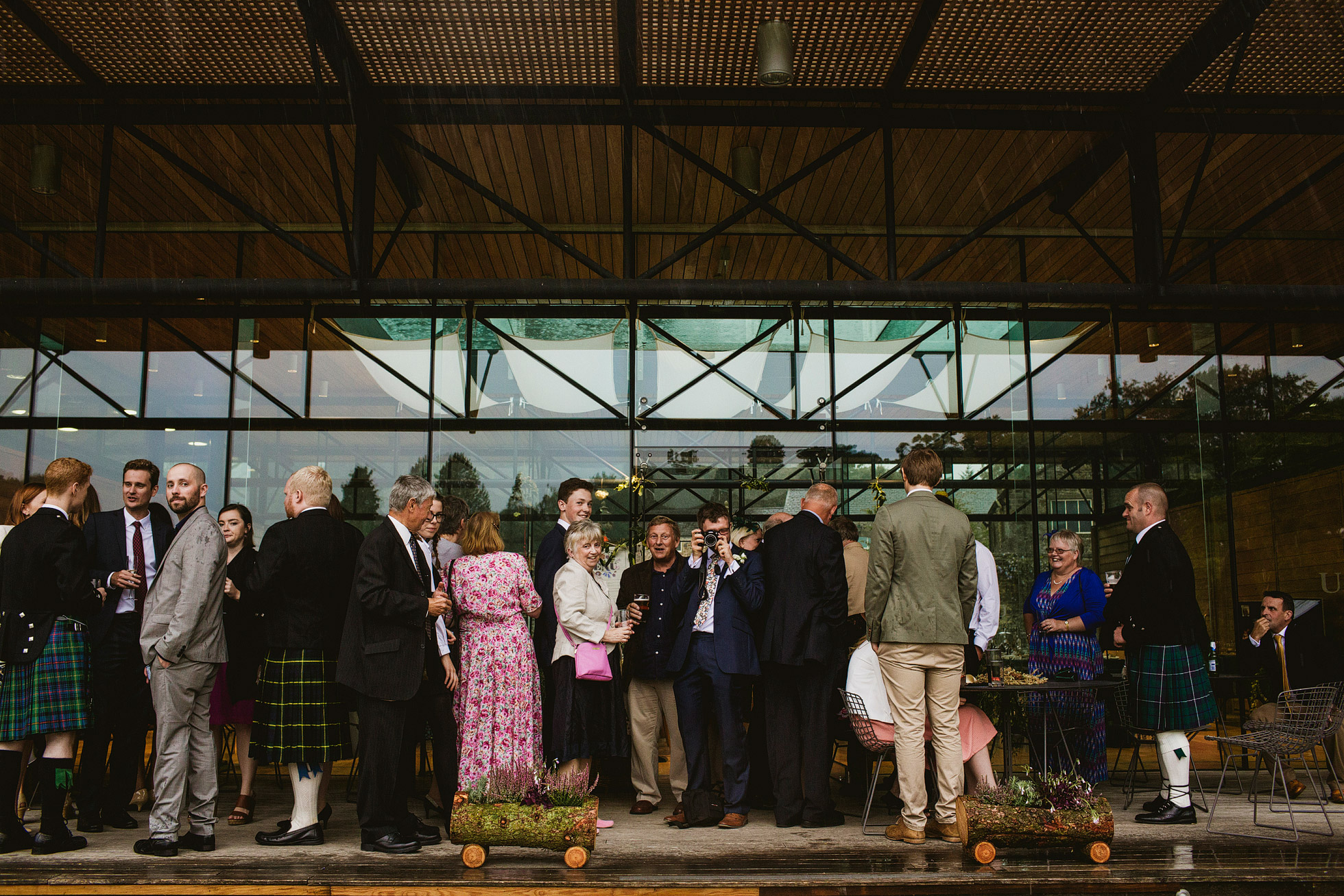 Utopia Broughton Hall Rainy Wedding Days