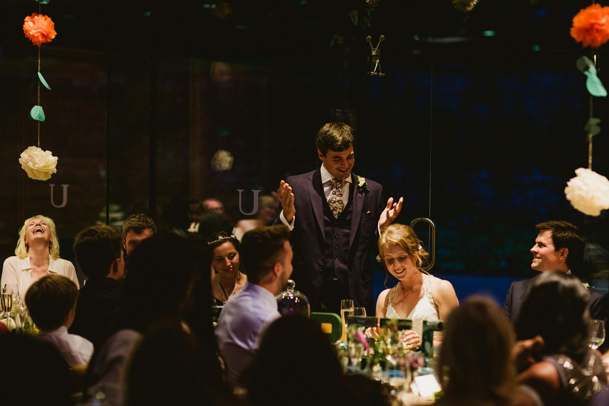 Utopia Broughton Hall Wedding Speeches
