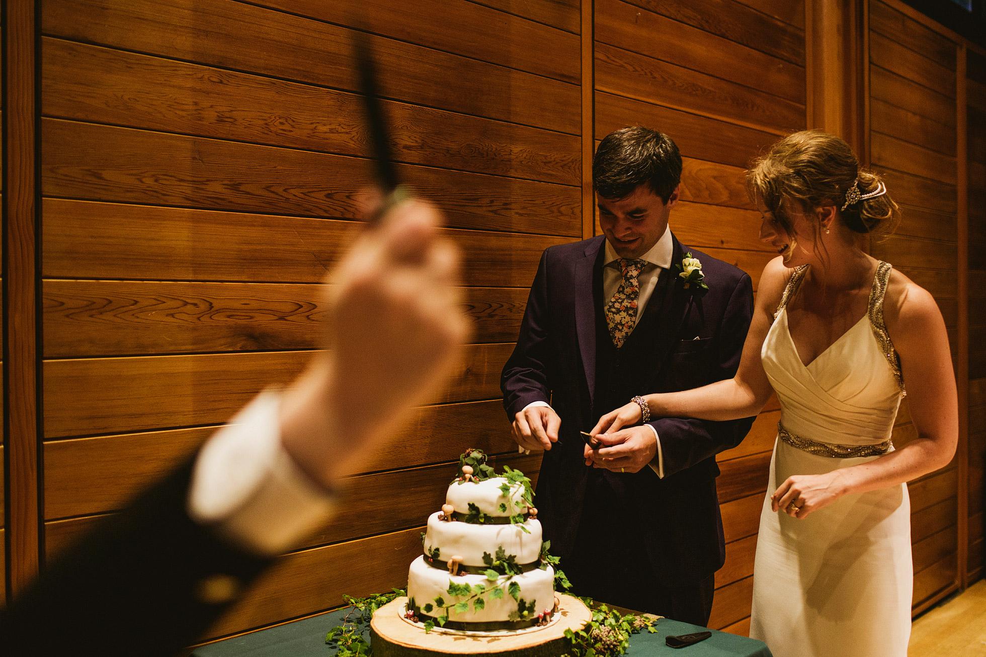 Utopia Broughton Hall Cutting of the Cake