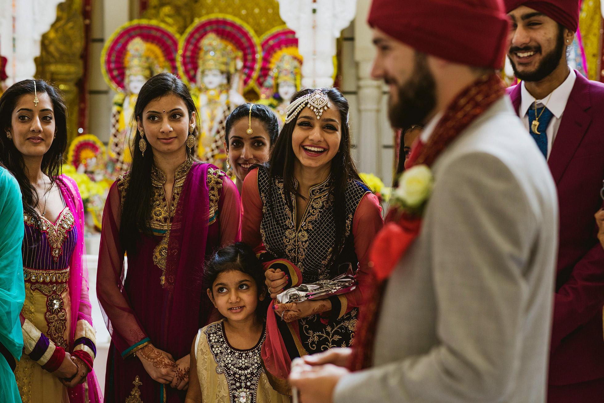 Shree Lakshmi Narayan Hindu Temple Wedding Ceremony