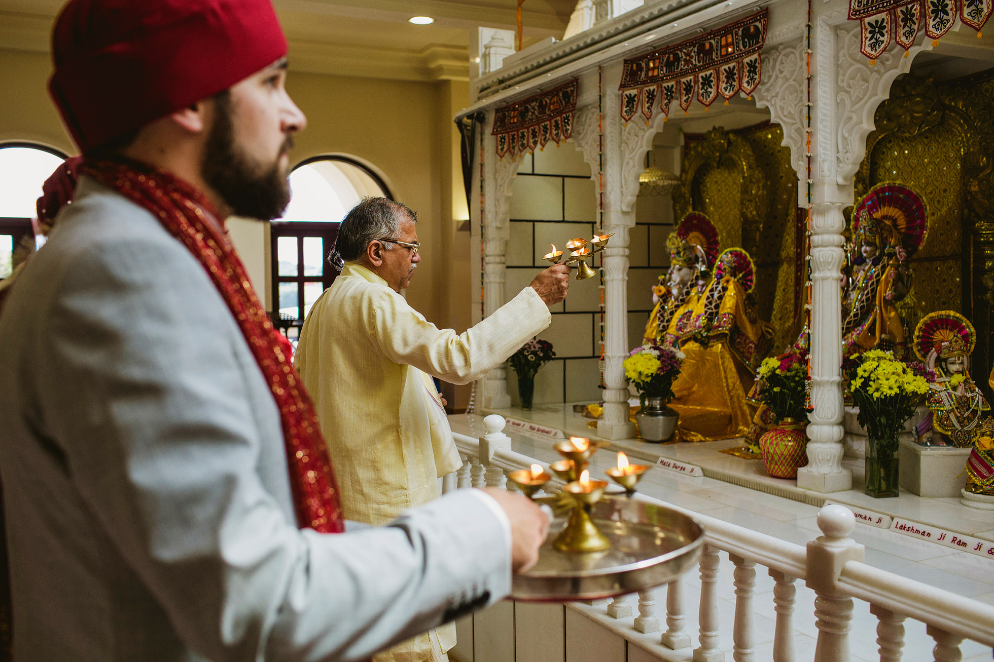 Hindu Temple Wedding Ceremony