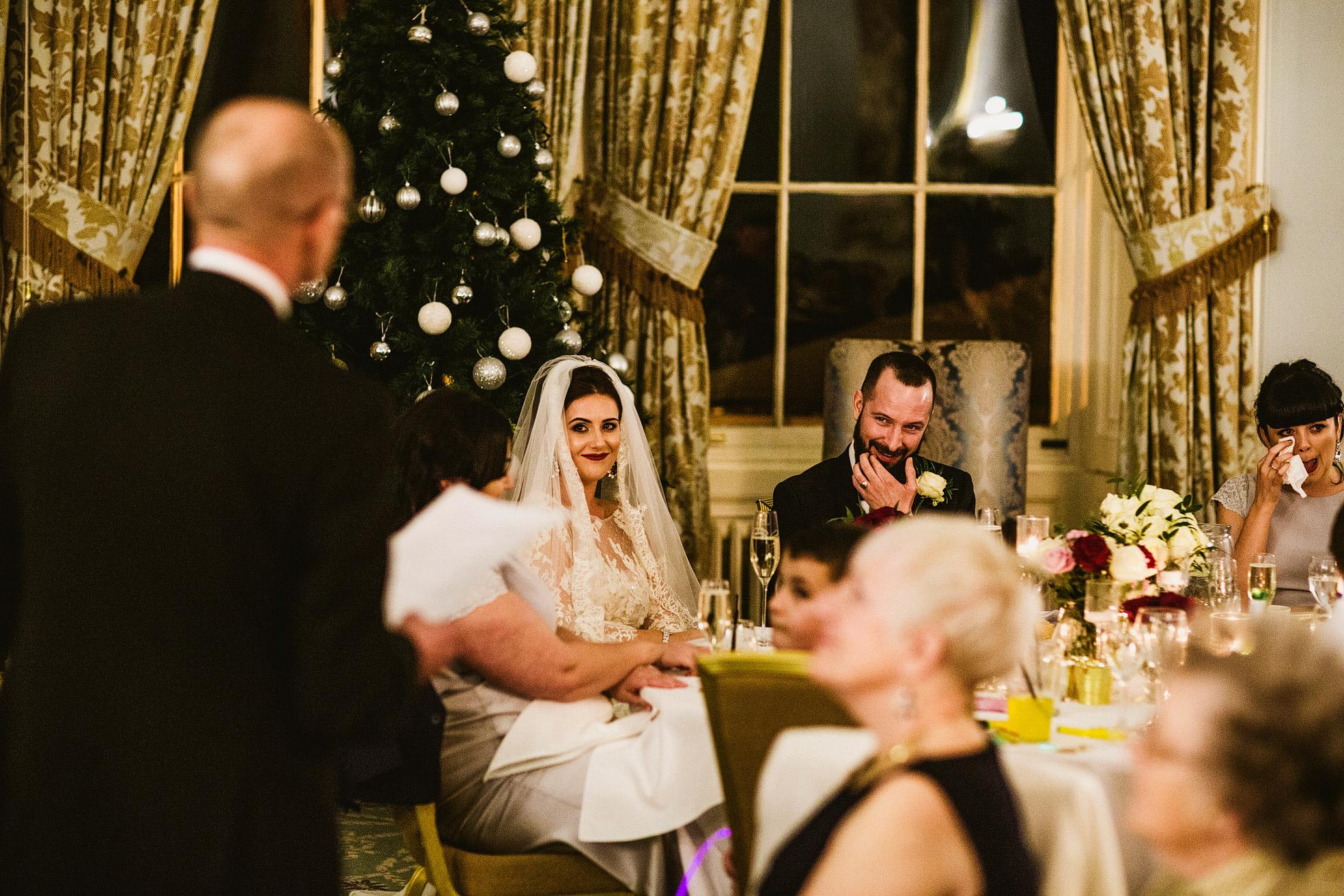 Wynyard Hall Wedding Reception