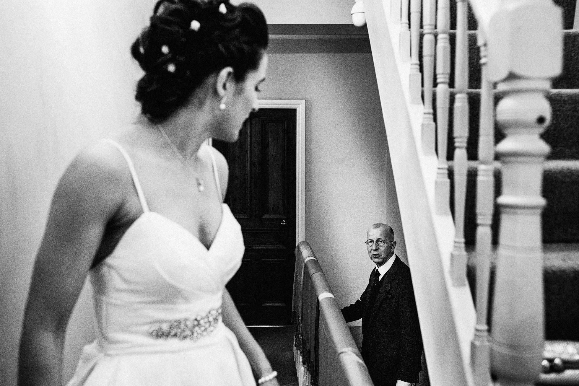 Barmbyfield Barn Bridal Preparations Black and White