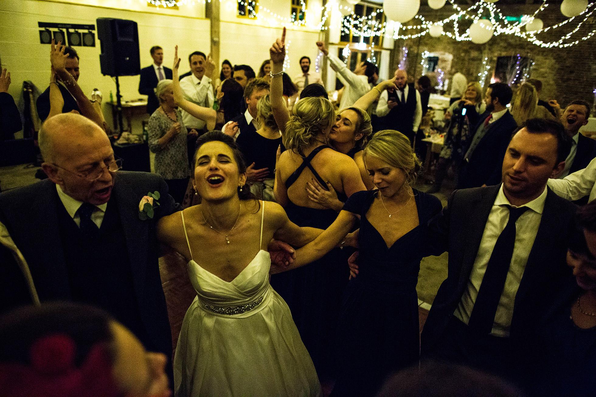Barmbyfield Barn Dancefloor