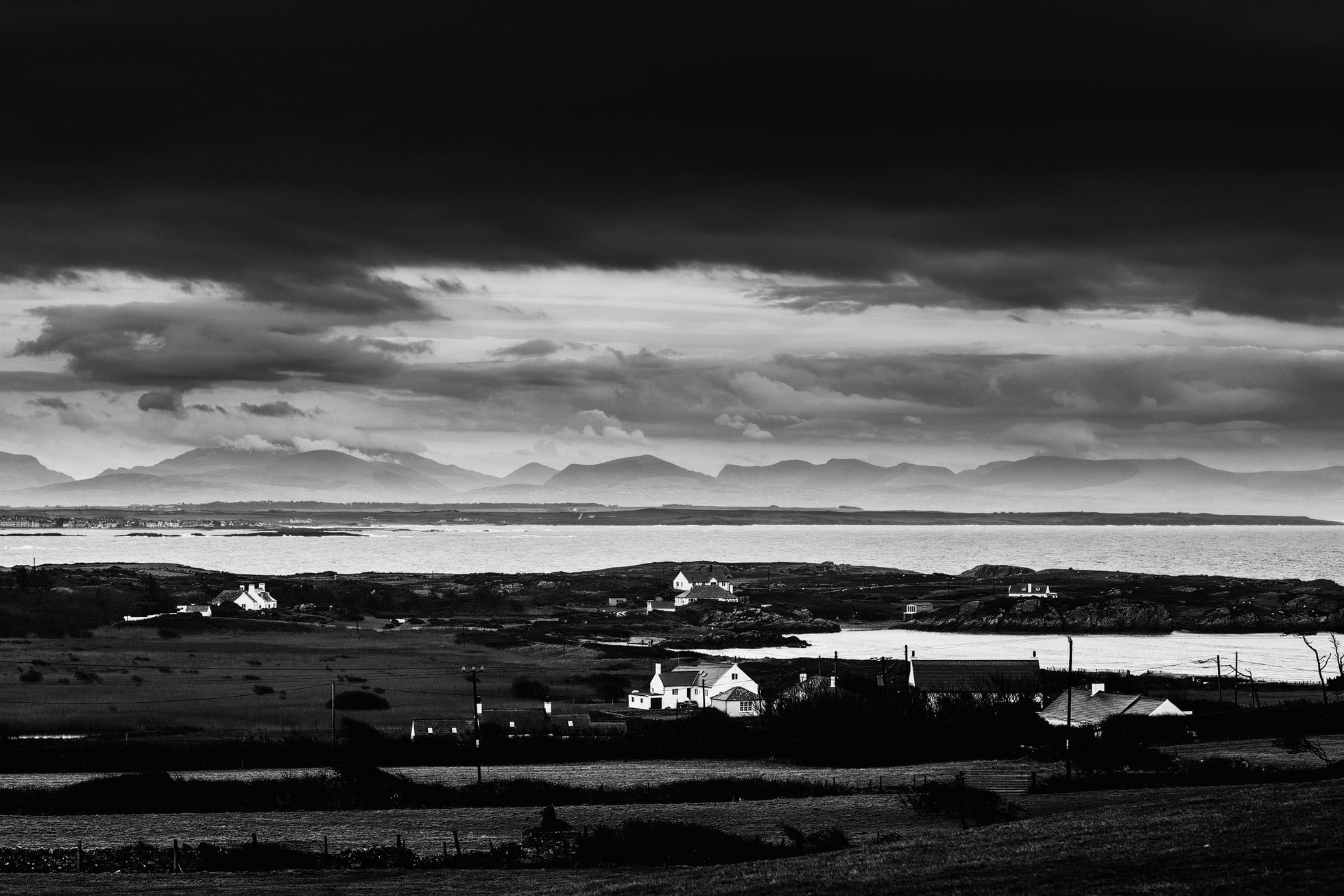 Views across The Bay at Anglesey