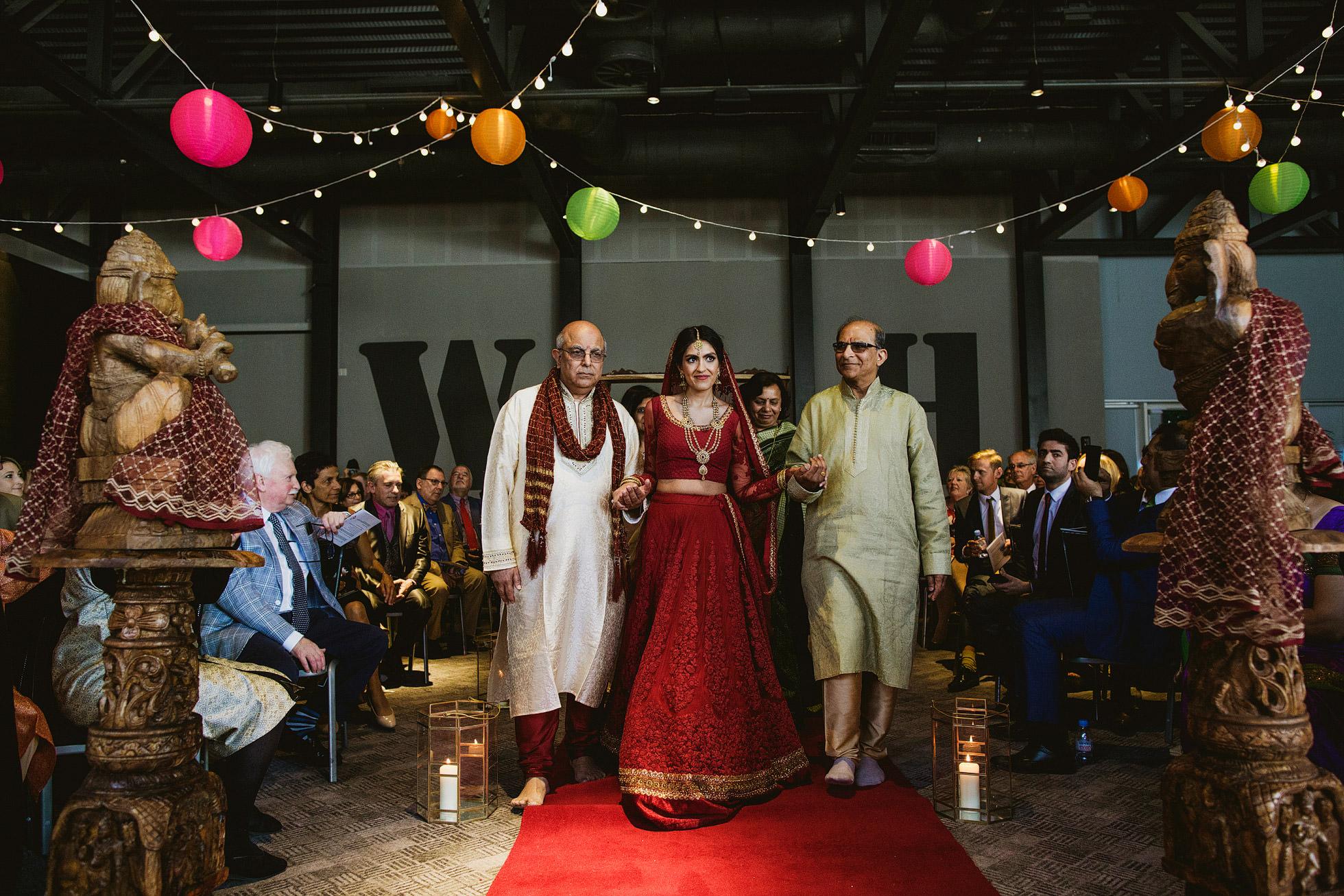 Titanic Hotel Liverpool Indian Wedding Photography