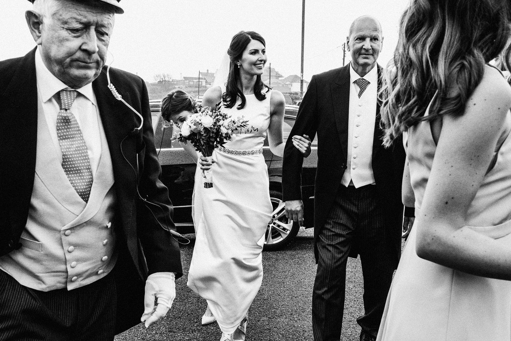 Trearddur Bay Wedding Ceremony