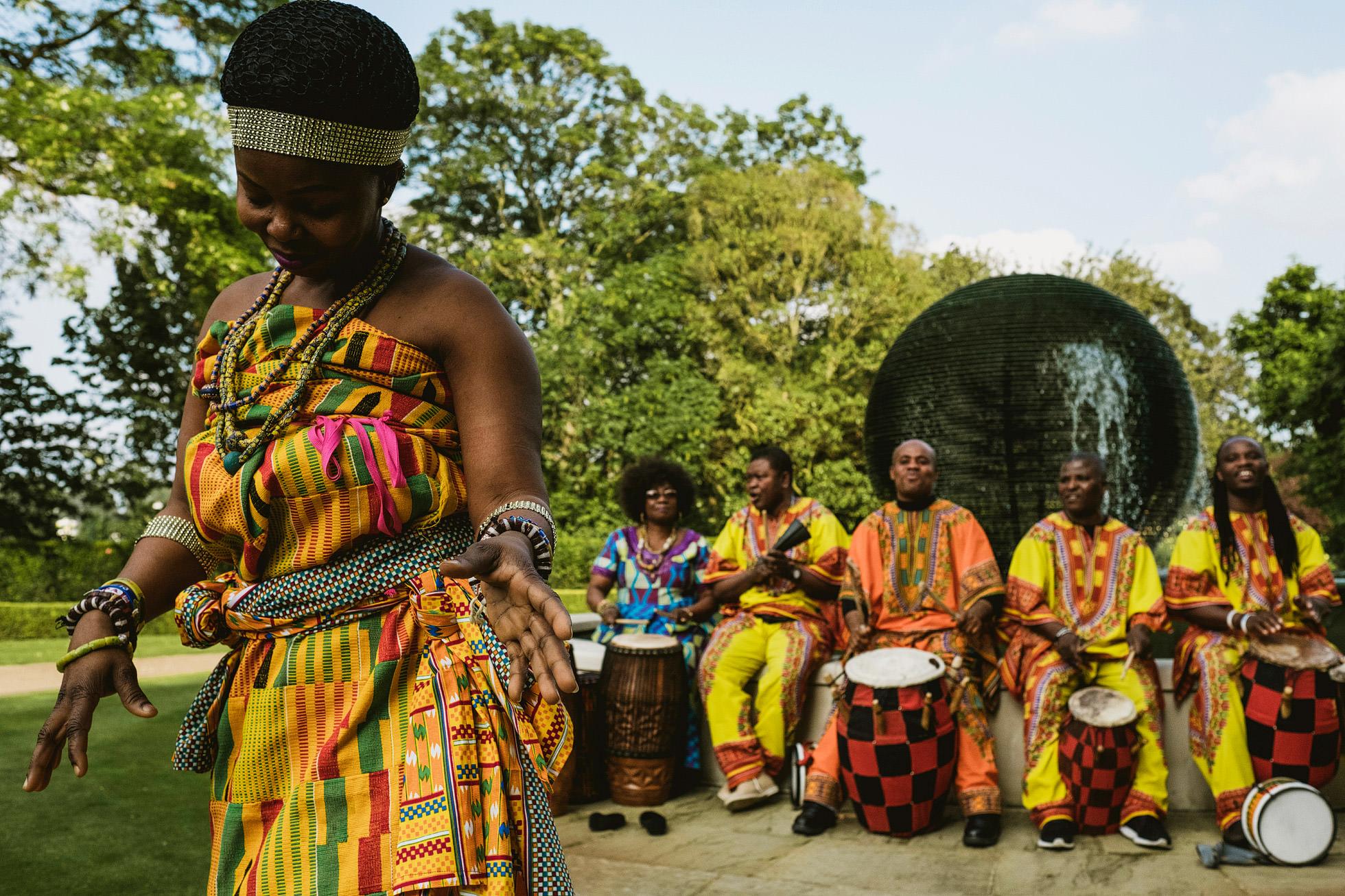 Hurlingham Club African Wedding Reception