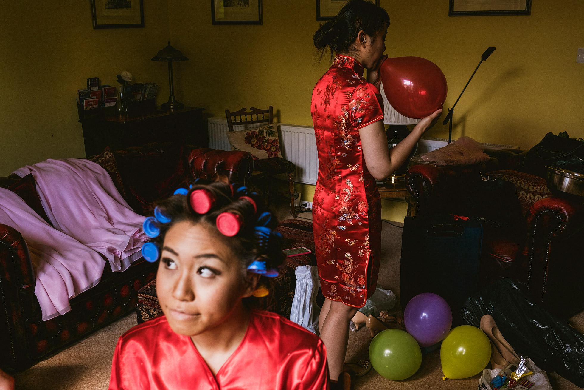 Chinese Wedding Photography Bridal Preparations