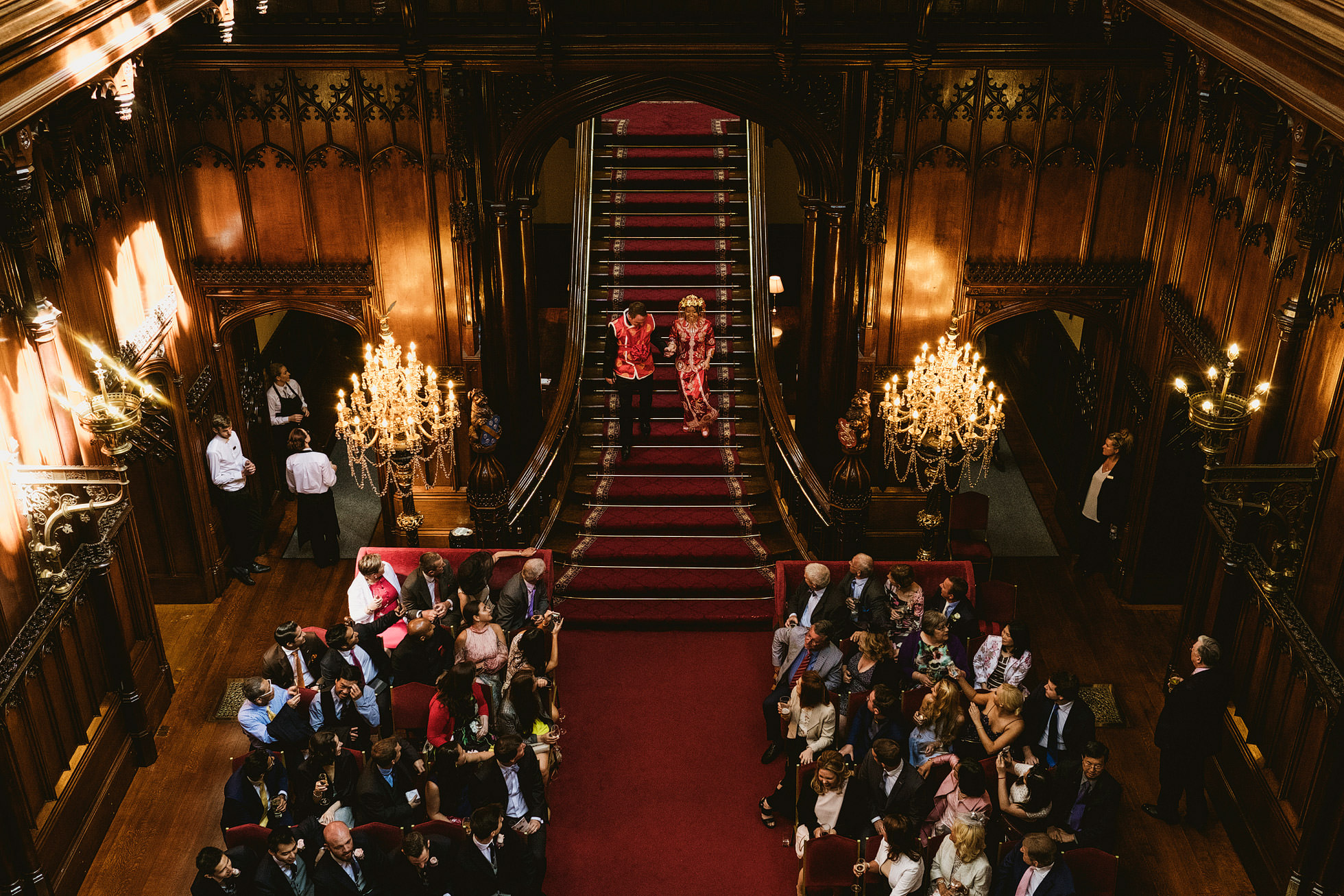 Allerton Castle Chinese Wedding Photography