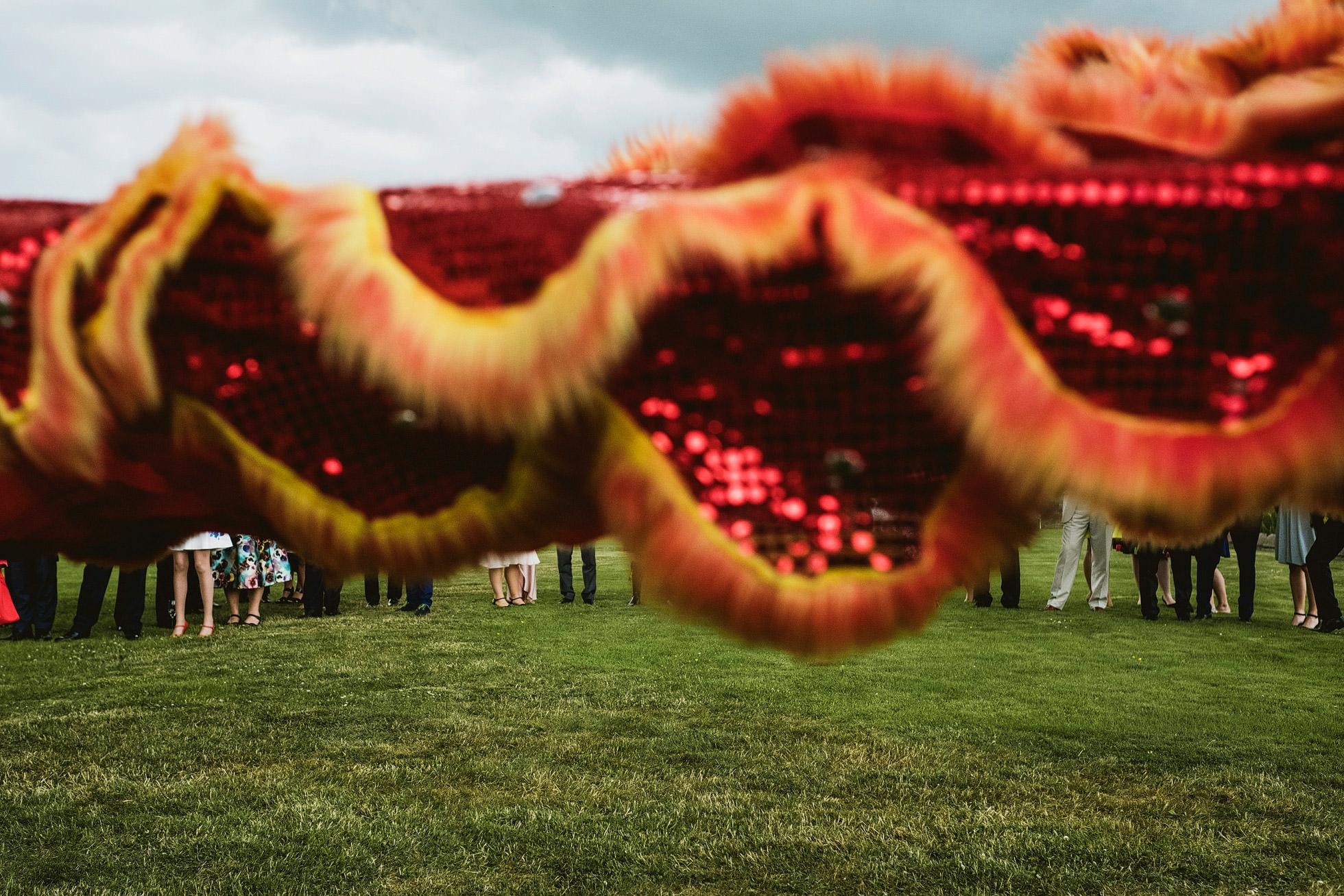 Allerton Castle Chinese Lion Dance