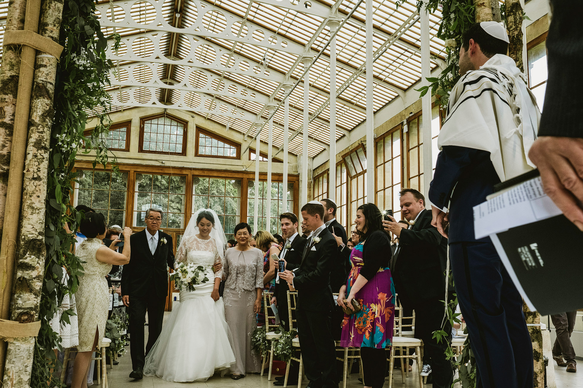 Kew Gardens Wedding Ceremony