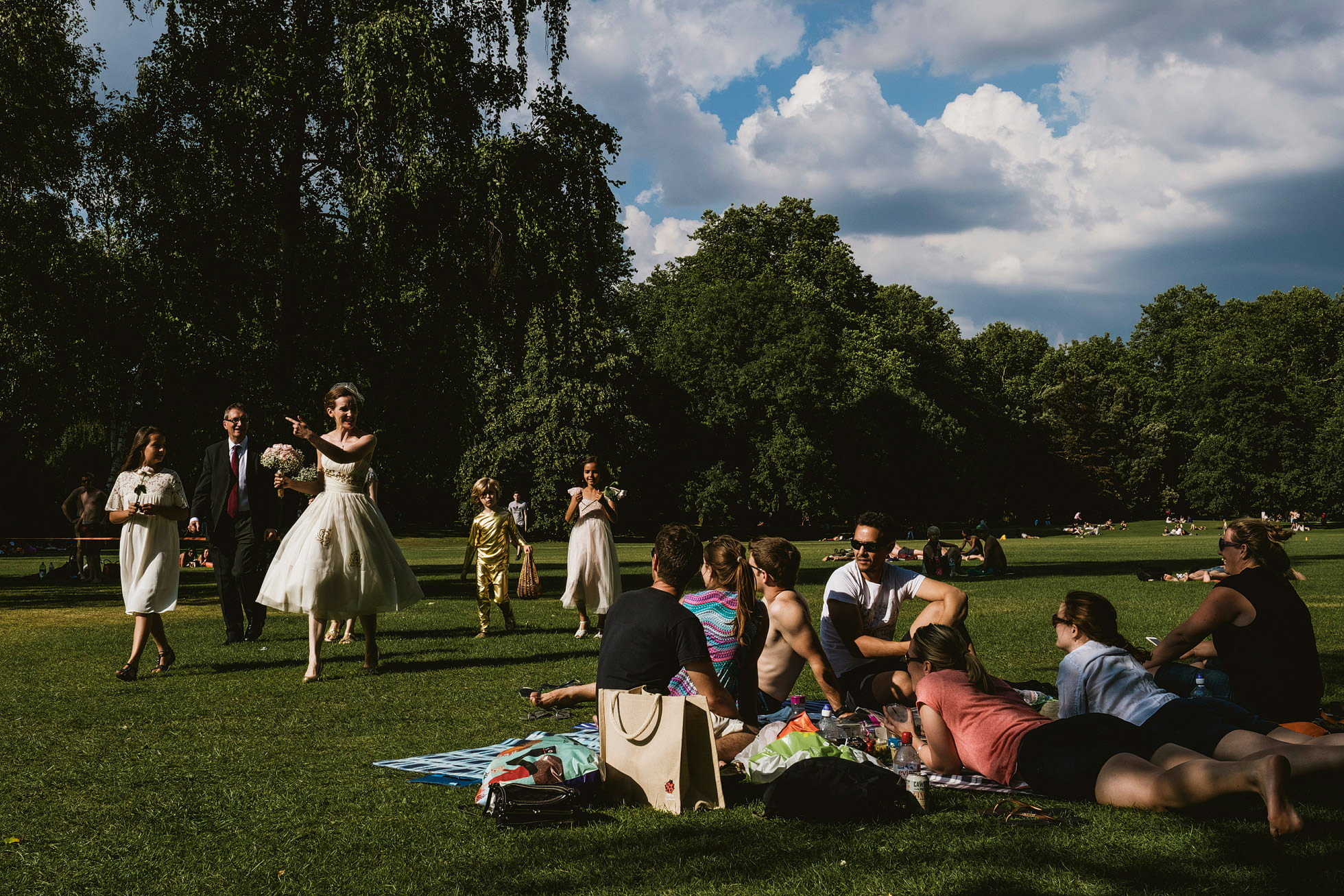 Battersea Park Wedding Ceremony