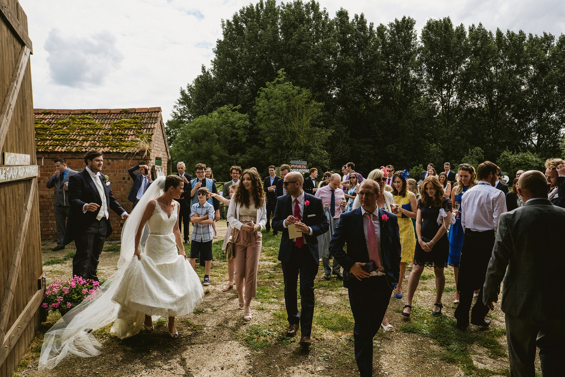 Kingsthorpe Lodge Barn Wedding Photography