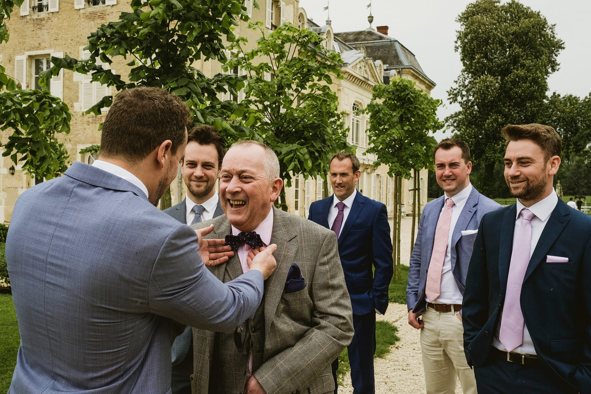 chateau de varenne wedding ceremony