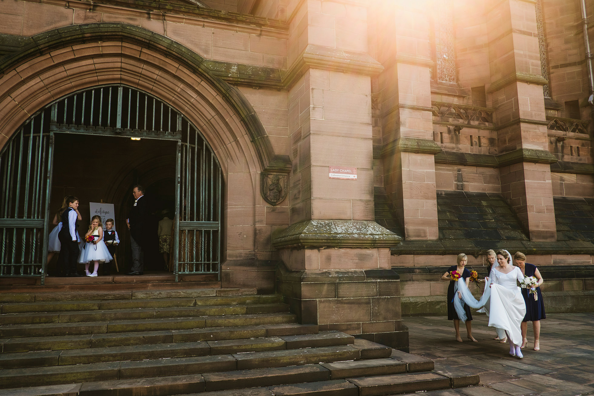 Liverpool Cathedral Wedding Photography Liverpool Weddings