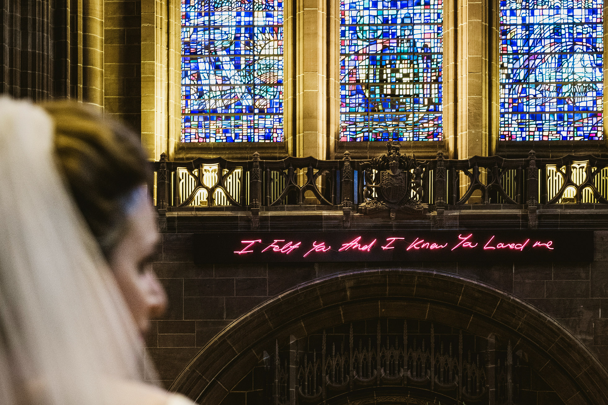 Liverpool Cathedral Wedding