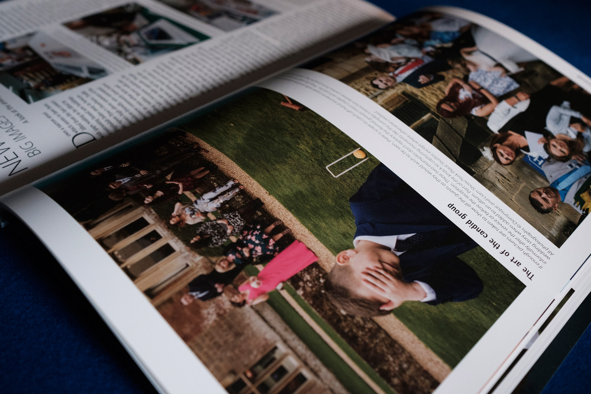documentary wedding photographers magazine article