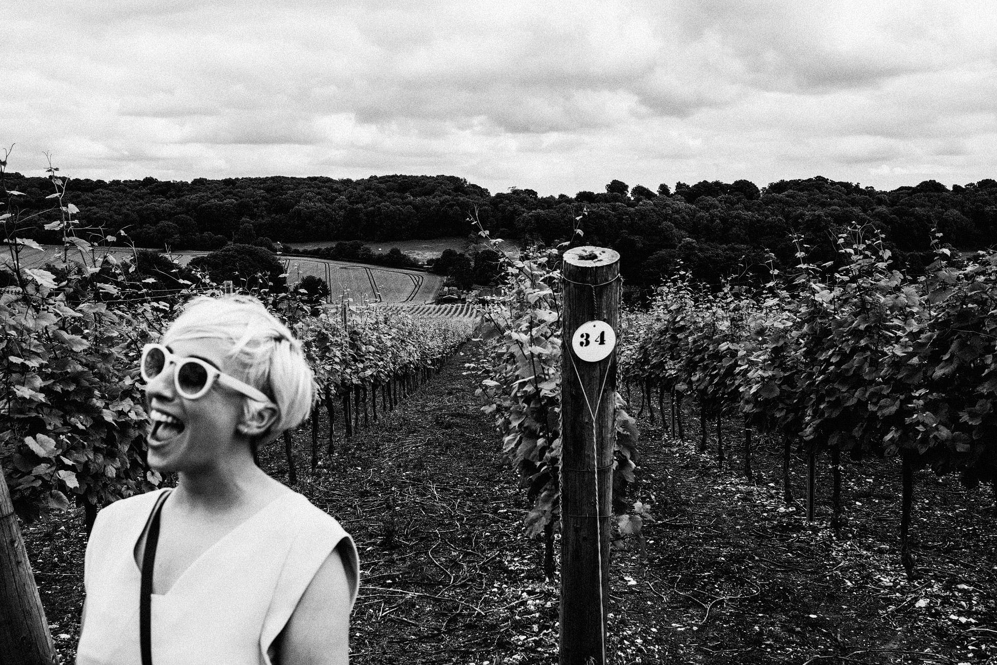 Hambledon Vineyard Wedding Photographer