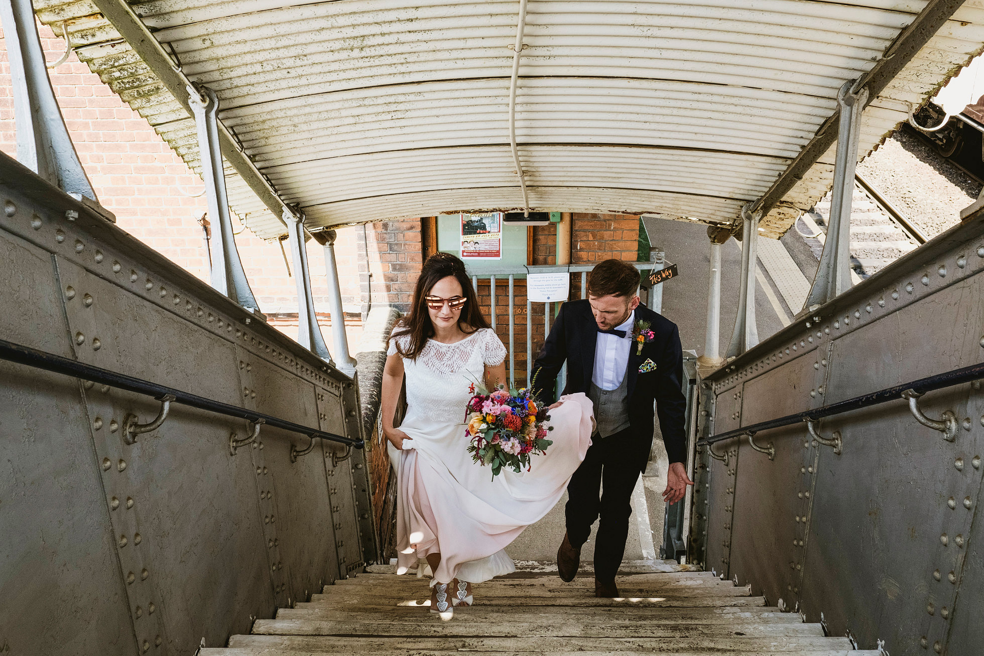 east anglian railway museum wedding photography