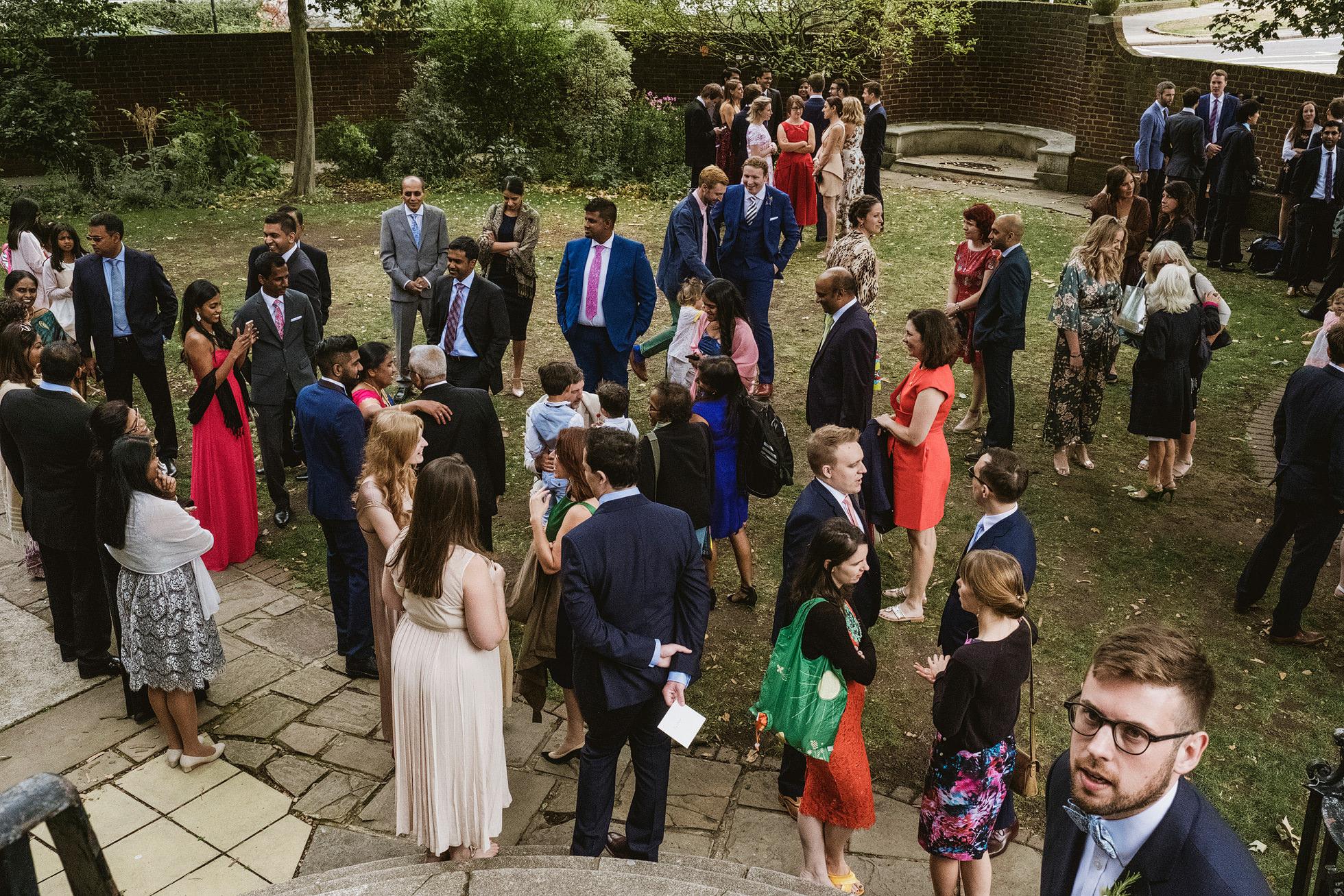 Cecil Sharp House wedding photography